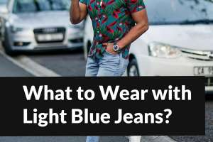 What to Wear with Light Blue Jeans — Tips for Men.