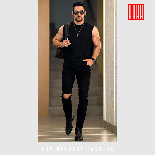 All Black Casual Summer Outfit