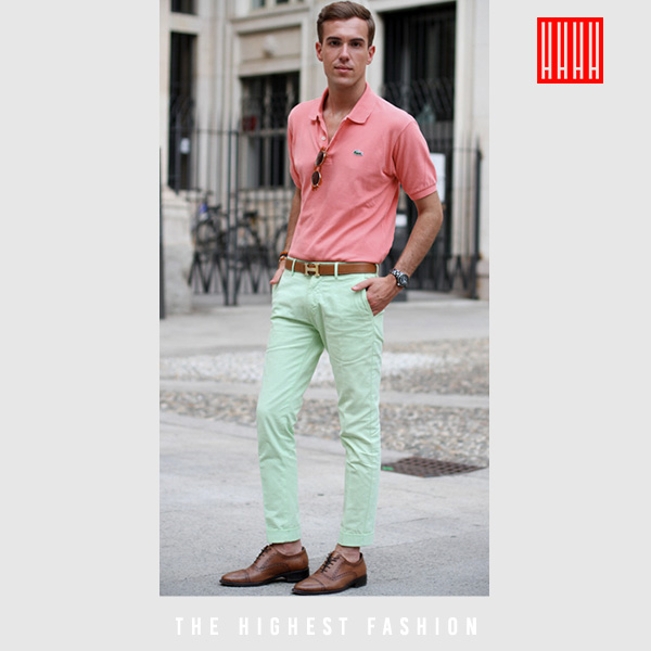 Colorful Business Casual for men