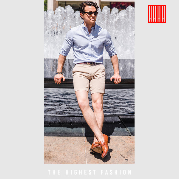 Preppy Casual summer outfit for men