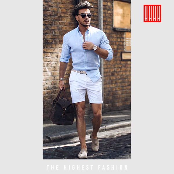 Summer chic outfit for men