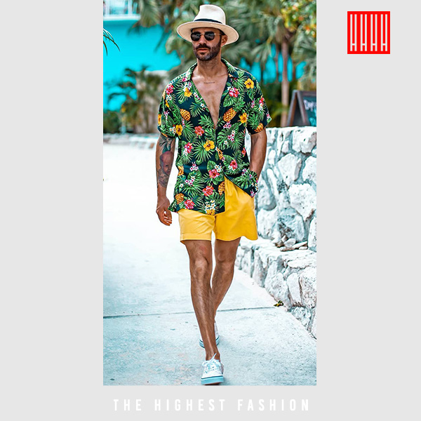 summer pool outfit for men